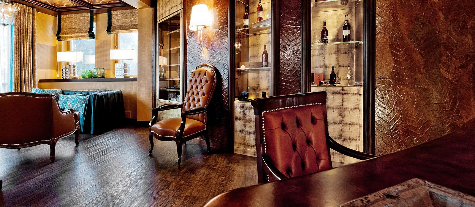 Tschuggen Grand Hotel_Cigar Lounge