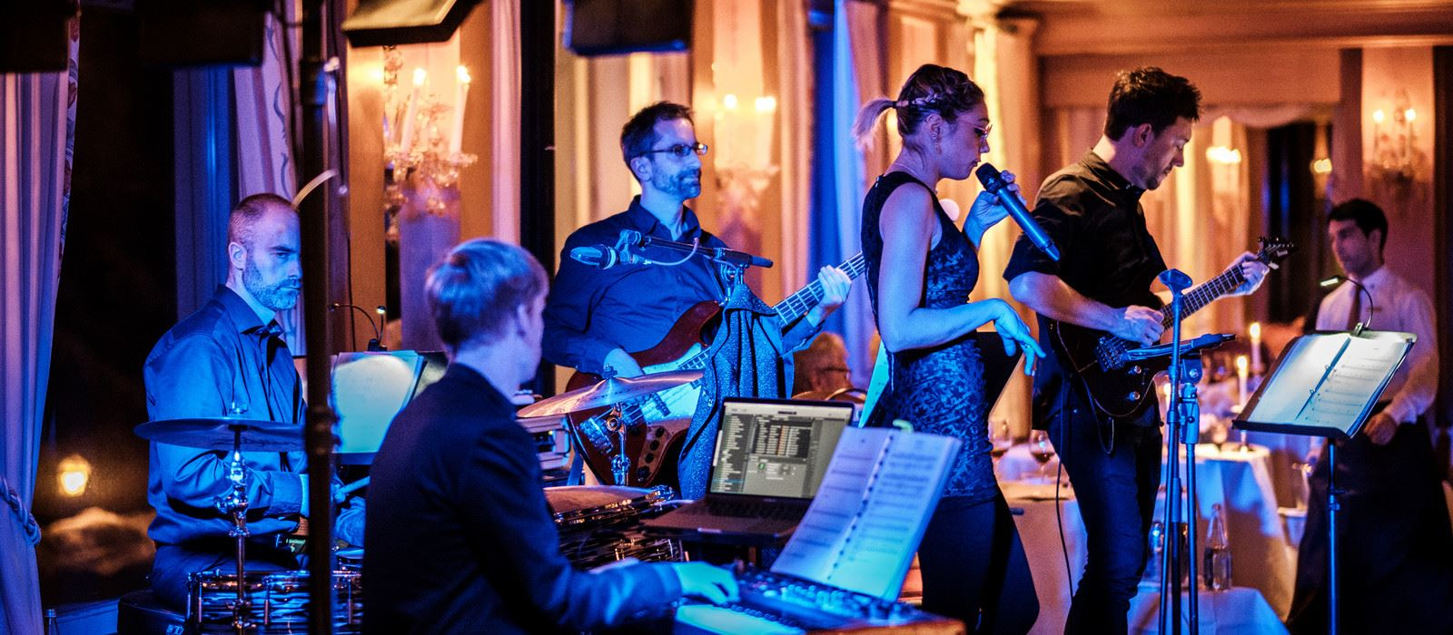 Tschuggen Grand Hotel_Events_Liveband in der Bar