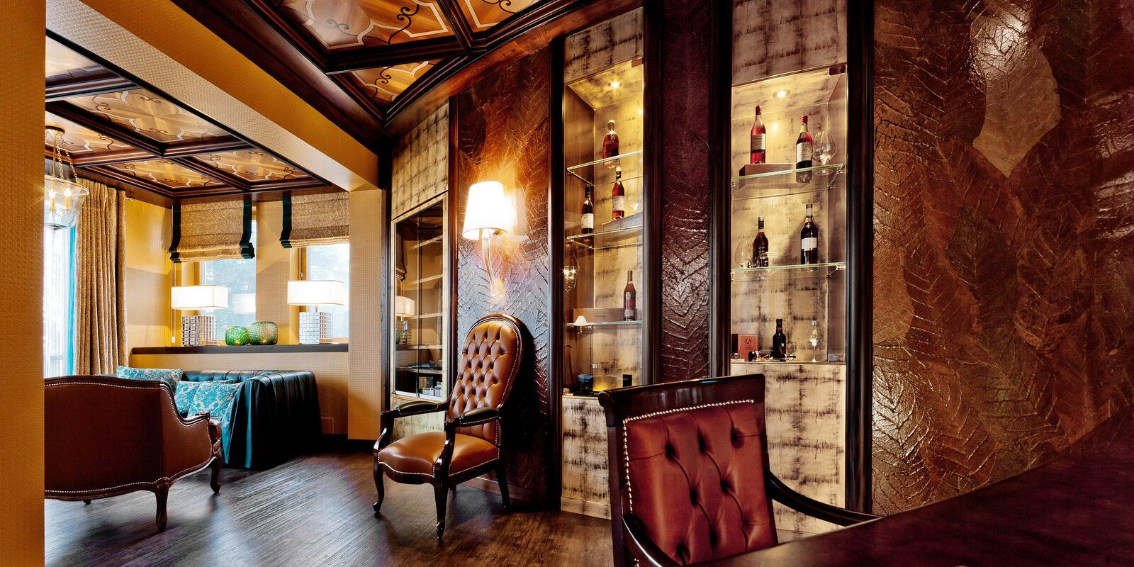 Tschuggen Grand Hotel_Cigar Lounge 3