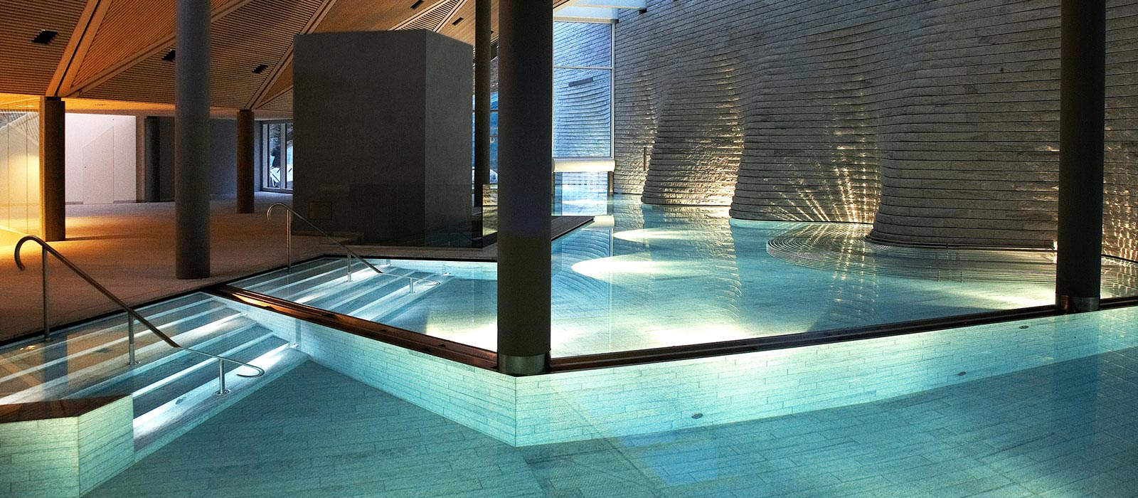 Tschuggen Bergoase Arosa Spa Und Wellness By Mario Botta Tschuggen Grand H