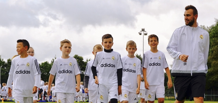 Real Madrid Clinics - The football camp in Arosa