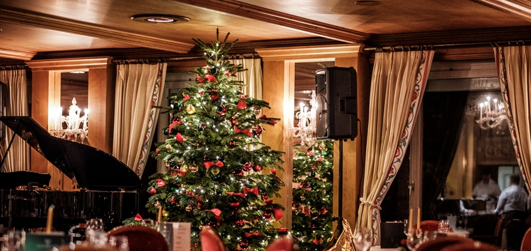Christmas at the Tschuggen Grand Hotel